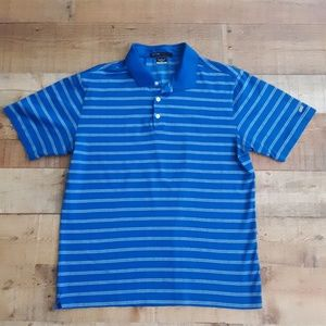 Nike Dri-fit Tiger woods collection golf polo Med